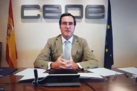 CEOE pide un plan de ayuda integral al turismo y alargar los ERTE hasta Semana Santa