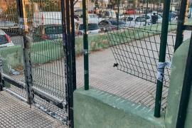 Elena López denuncia el incivismo de vecinos de Vila en las pistas deportivas