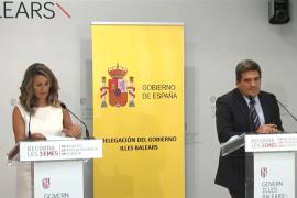 Yolanda Díaz, tras la negociación de los ERTE en Palma: «No hay acuerdo pero hay buena sintonía»