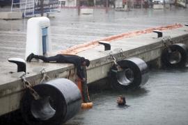 Un problema eléctrico chafa el estreno del tanque de tormentas