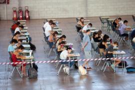 Un centenar de alumnos se examinan de Selectividad en Ibiza entre este martes y jueves