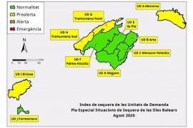 Los acuíferos de Ibiza, en situación de prealerta