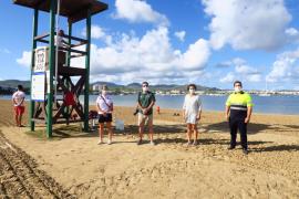 Sant Antoni realiza dos simulacros de emergencia en s'Arenal y Punta Galera