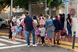 Relativa normalidad en el primer día de la vuelta al cole escalonada en Baleares
