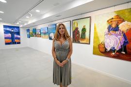 Cristina Ferrer: «Intento darle un alma diferente a cada cuadro»