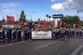 Trabajadores de Teleco inician una huelga ante «una grave modificación» de las condiciones