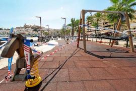 Las nuevas restricciones vuelven a dejar huérfanos de niños los parques de la isla