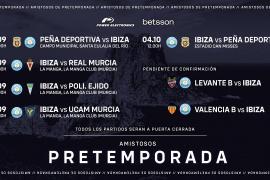 La UD Ibiza ya conoce sus rivales de pretemporada