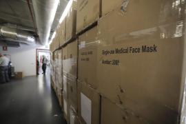 El Govern tiene material sanitario en stock para cuatro meses