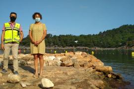 La concejalía de Medio Ambiente reclama a Costas la autorización para instalar el campo de boyas ecológicas en Cala Salada