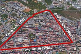Estas son las zonas afectadas por el nuevo confinamiento en Vila y Sant Antoni