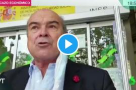 La indignación de Antonio Resines con el cierre de una oficina de la Seguridad Social