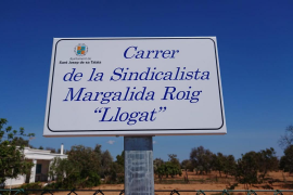 Sant Josep dedica por primera vez una calle a una mujer