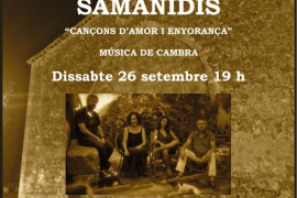 Ocio en Mallorca: Quartet Samanidis en Campanet