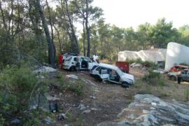 Amics de la Terra denuncia un vertedero ilegal junto al cementerio de Sant Joan