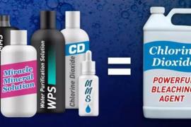 Sanidad alerta de que el dióxido de cloro no previene el Covid-19 y supone un grave riesgo para la salud