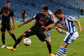 El Madrid, con el mallorquín Marvin Olawale, empata ante la Real