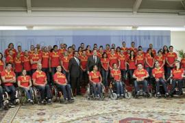 Rajoy dice que los paralímpicos son un ejemplo de superación para España