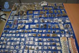 Detenido con casi dos kilos de hachís y uno de marihuana en un supuesto club cannábico