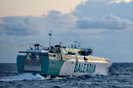 Un buque de Baleària que cubre la ruta entre las Pitiusas se avería en alta mar con 250 personas a bordo