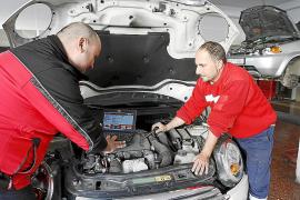 Un «buen agosto» de trabajo para los talleres mecánicos