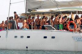 Primeros expedientes de Govern y Formentera contra 'boat parties'