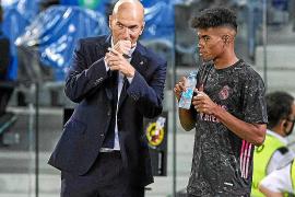 Marvin con Zidane