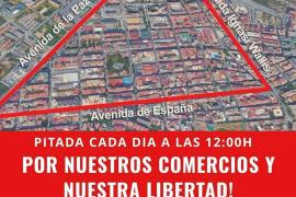 Vecinos y comerciantes de la «zona gueto» de Vila convocan una pitada contra las restricciones