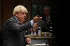 Johnson avisa de que Reino Unido está en un «peligroso punto de inflexión» por la pandemia