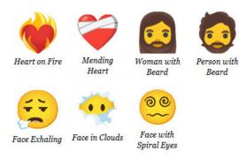 Más de 200 emojis nuevos en WhatsApp: Te adelantamos algunos de ellos