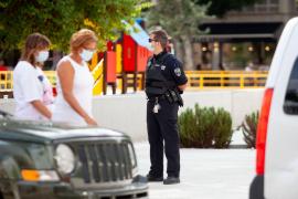 La Policía Local levanta 81 actas en l'Eixample por incumplimiento de las medidas sanitarias