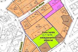 Santa Eulària planea ordenar el entorno del Puig de Missa y habilitar un nuevo estacionamiento y una zona verde