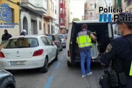 Desmantelan un punto de venta de droga en Palma y buscan a sus responsables