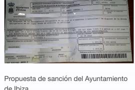 La sanción al repartidor de alimentos tiene fecha del 24 de abril y fue incoada el pasado día 9