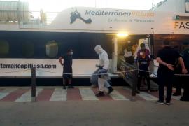 Dos menores y ningún positivo entre los 23 inmigrantes llegados a Formentera