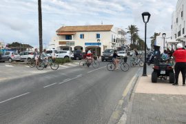 Sa Unió de Formentera reclama la mejora de las carreteras