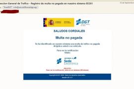 La DGT avisa de un nuevo bulo que reclama el pago de una multa por e-mail