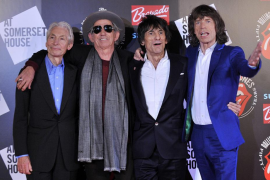 Los Rolling Stones se reúnen en un estudio de grabación en París