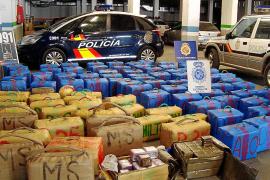 La Policía Nacional de Palma se incauta de 22 toneladas de hachís en Algeciras y Canarias