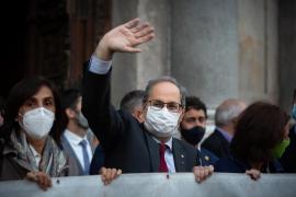 La inhabilitación de Torra deja a Catalunya sin presidente y sin fecha electoral