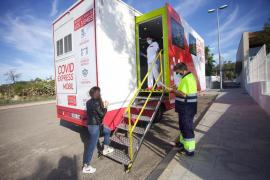Amplían en Ibiza el cribado poblacional para frenar los contagios de COVID-19