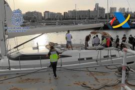 Los narcos del hachís traían la droga a la Isla en barcos valorados en 5 millones de euros
