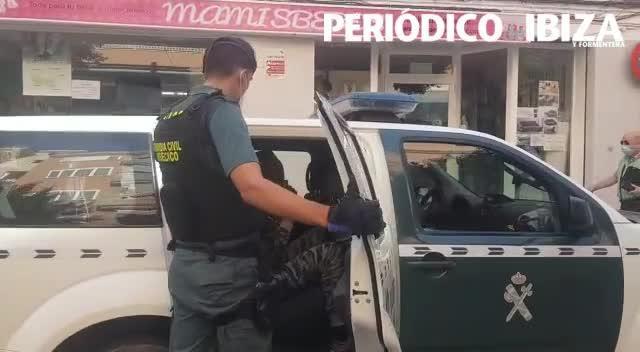 Dos detenidos y varios registros en Ibiza en un golpe contra el tráfico de drogas en la isla