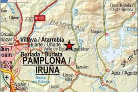 Un terremoto de magnitud 4,6 en Navarra se deja sentir en más de una treintena de localidades