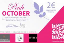 La Asociación Elena Torres celebra el Pink October con la Trattoria del Mar, Lydia's Smokehouse e Ipizza