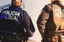 La Policía Local detiene en Can Misses a un hombre por comportamiento incívico y agresivo