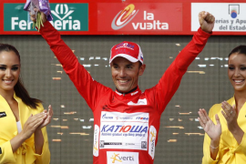 'Purito' mantiene el  liderato por un segundo respecto a Contador
