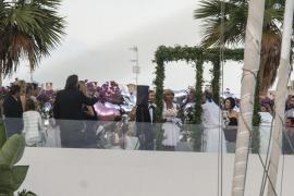 David Guetta renueva sus votos matrimoniales en Ibiza