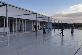 El edificio polivalente de Santa Gertrudis estará listo este mes