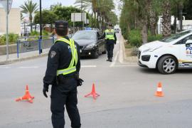 La Policía de Sant Antoni denuncia a dos conductores por conducir bajo los efectos del alcohol